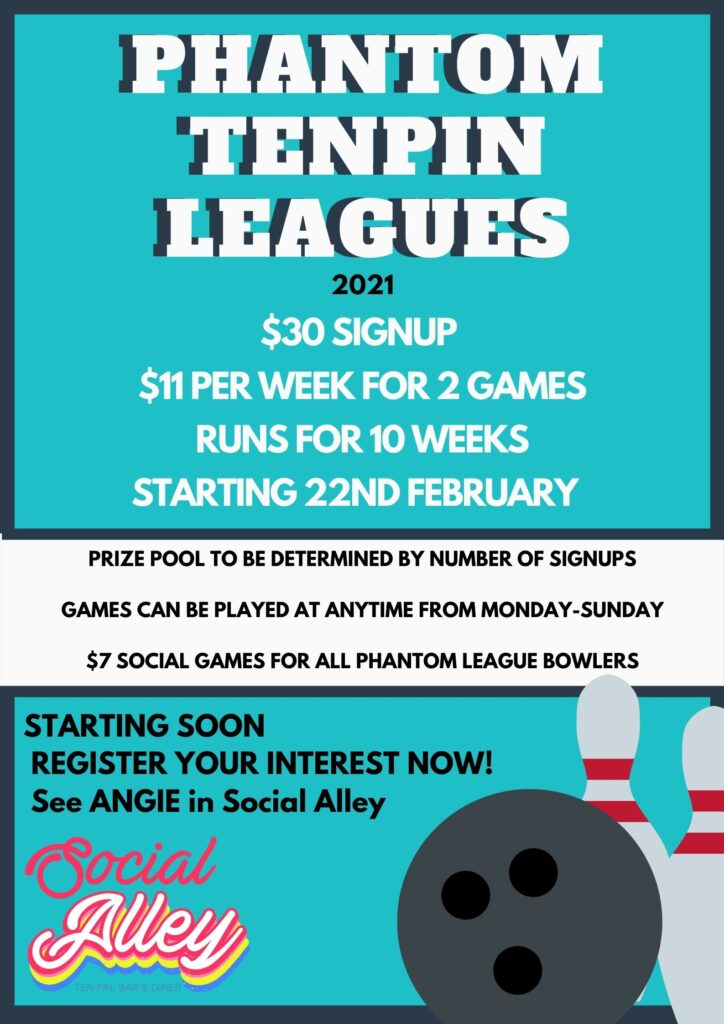 Social Alley - Phantom Tenpin Leagues